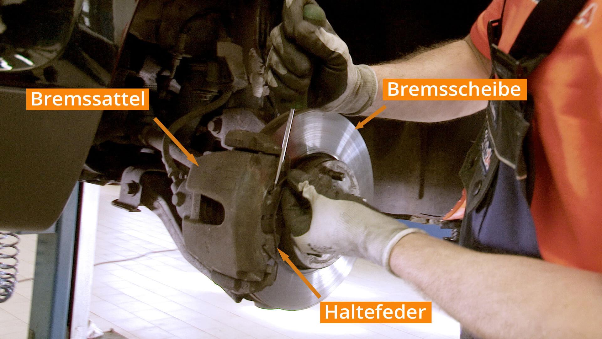 bremsbelag & bremsscheibe selber nach anleitung wechseln