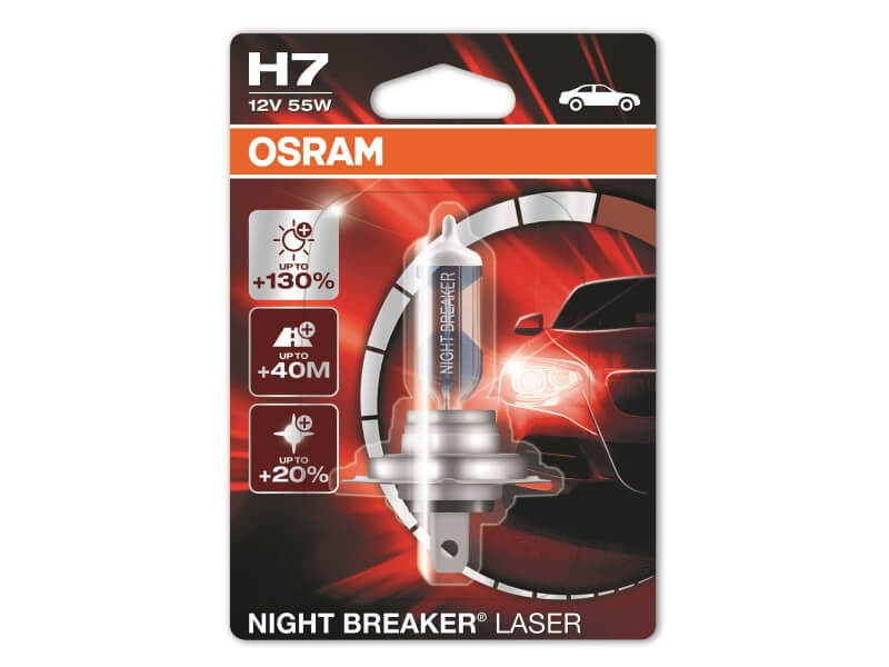 Halogenlampe Osram Night Breaker Laser