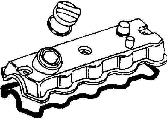 Dichtungssatz für Zylinderkopfhaube Ventildeckeldichtung Deckeldichtung