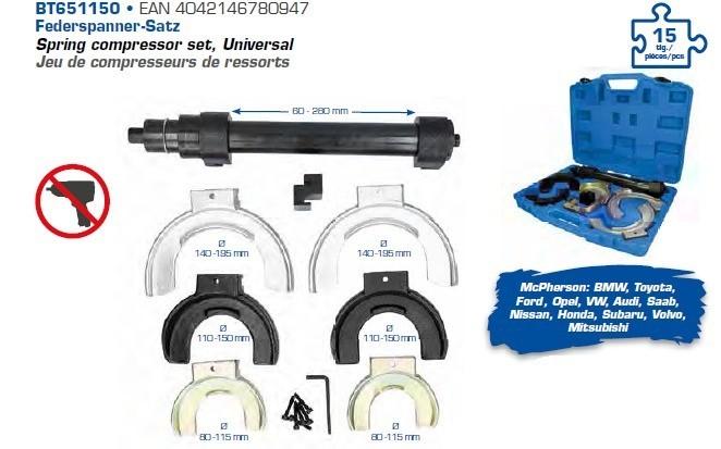 Federspanner Spannbereich 270 mm 2320-0504