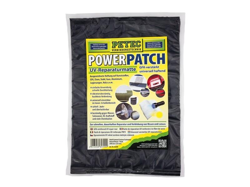 Power Patch UV-Reparaturmatte (300 x 225mm) | PETEC (85300)