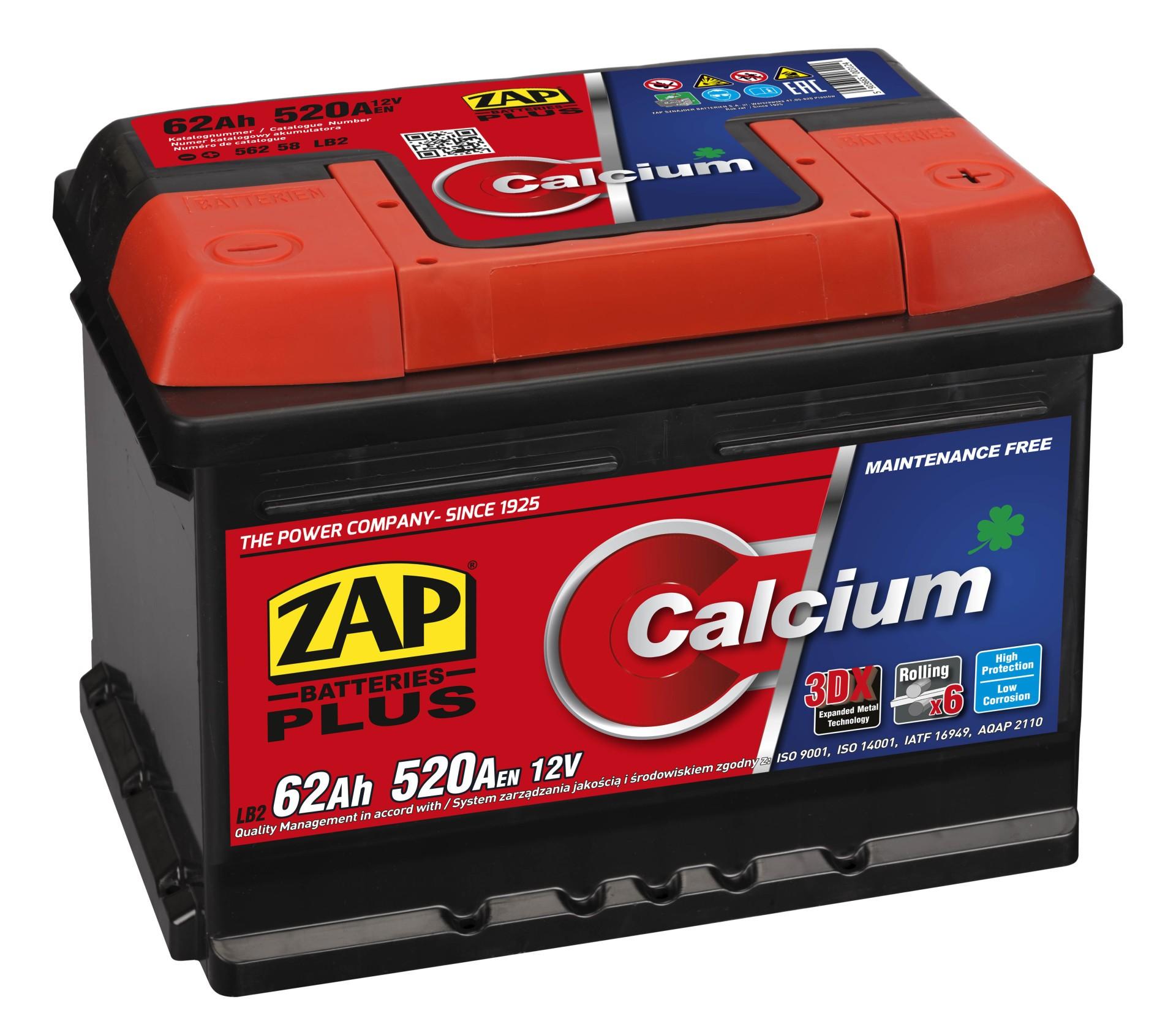 Starterbatterie 12V 62Ah 520Afür OPEL CORSA D C Akku Akkumulator Batterie
