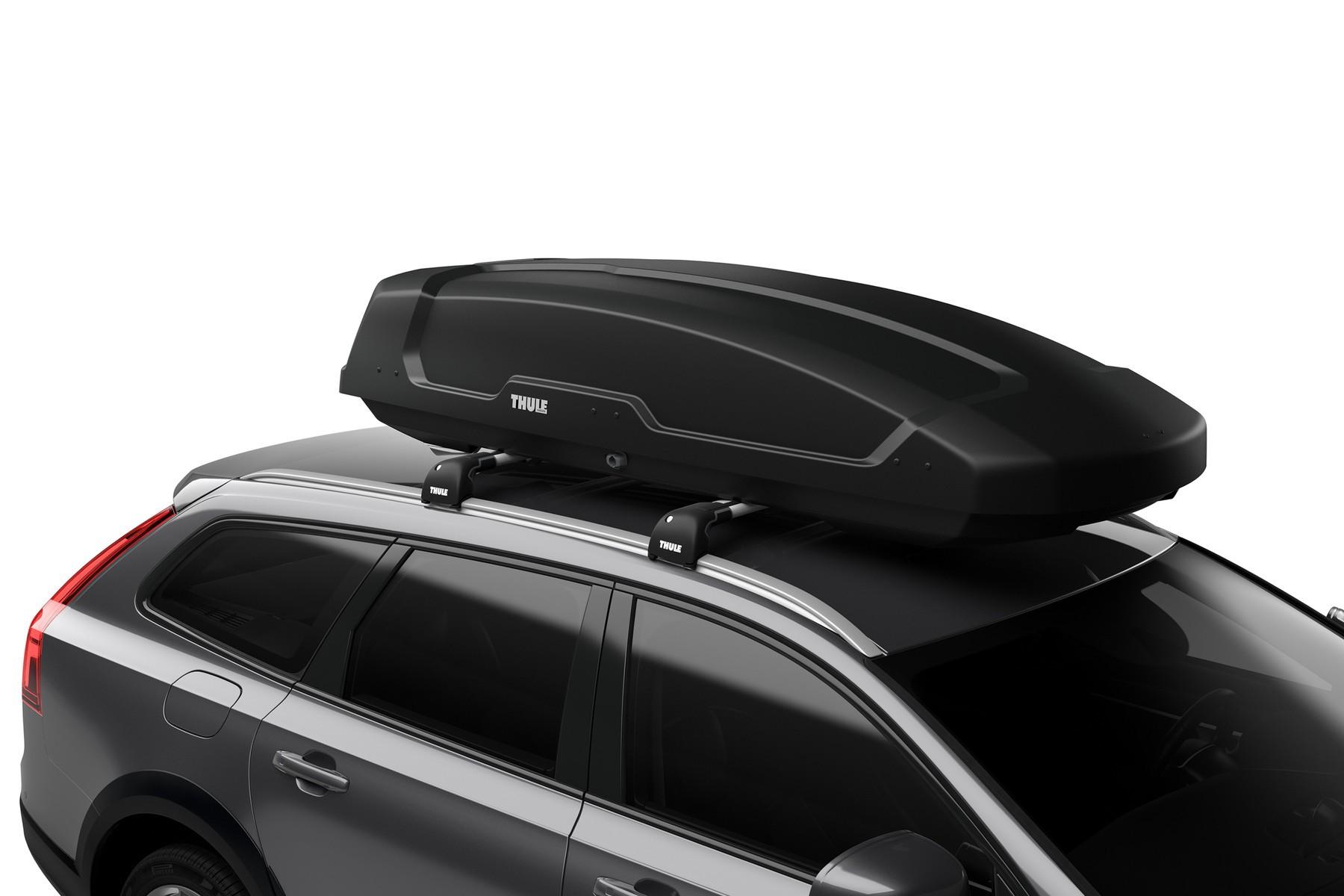 Alu-Relingtr/äger Dachgep/äcktr/äger f/ür aufliegende Reling im Set f/ür Audi A6 4F Avant 04-11 VDP Dachbox schwarz Juxt 500 gro/ßer Dachkoffer 500 Liter abschlie/ßbar