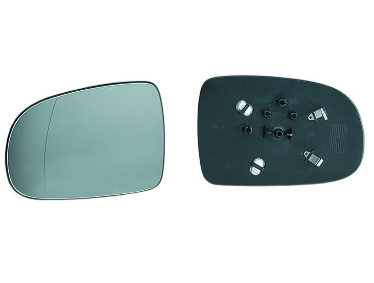 Spiegelglas rechts für OPEL CORSA C Spiegel Glas Konvex Heizung Außenspiegel