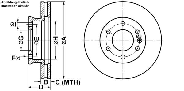 für VW Bremsen-Set ATE2 Bremsscheiben Scheibenbremse Hinten u.a