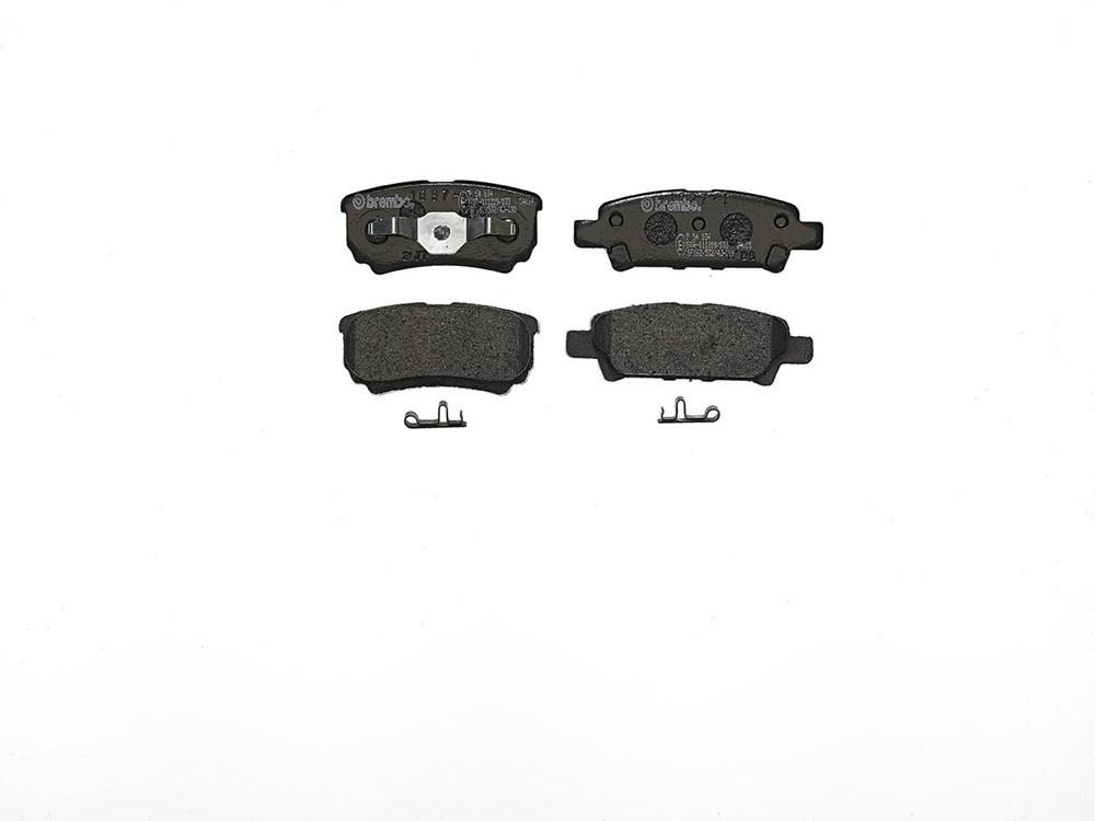 Bremsbelagsatz, Scheibenbremse