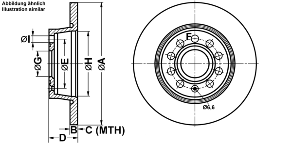 Bremsscheibe 'Power Disc'