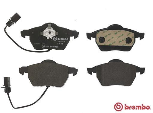 Brembo2 Bremsscheiben COATED DISC LINE Belüftet Ø320 mm Bremsbeläge Vorne