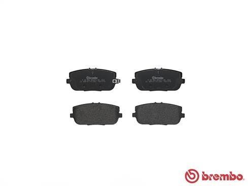 BremboPlaquette de Frein Arrière Pour Mazda mx-5 III IV FIAT RENAULT 124 P 49 044
