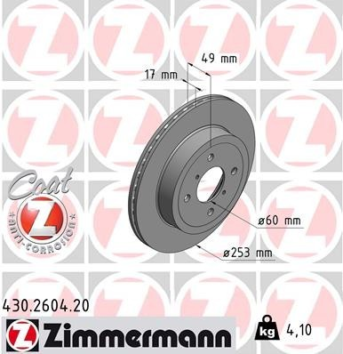 Bremsscheibe 'COAT Z'