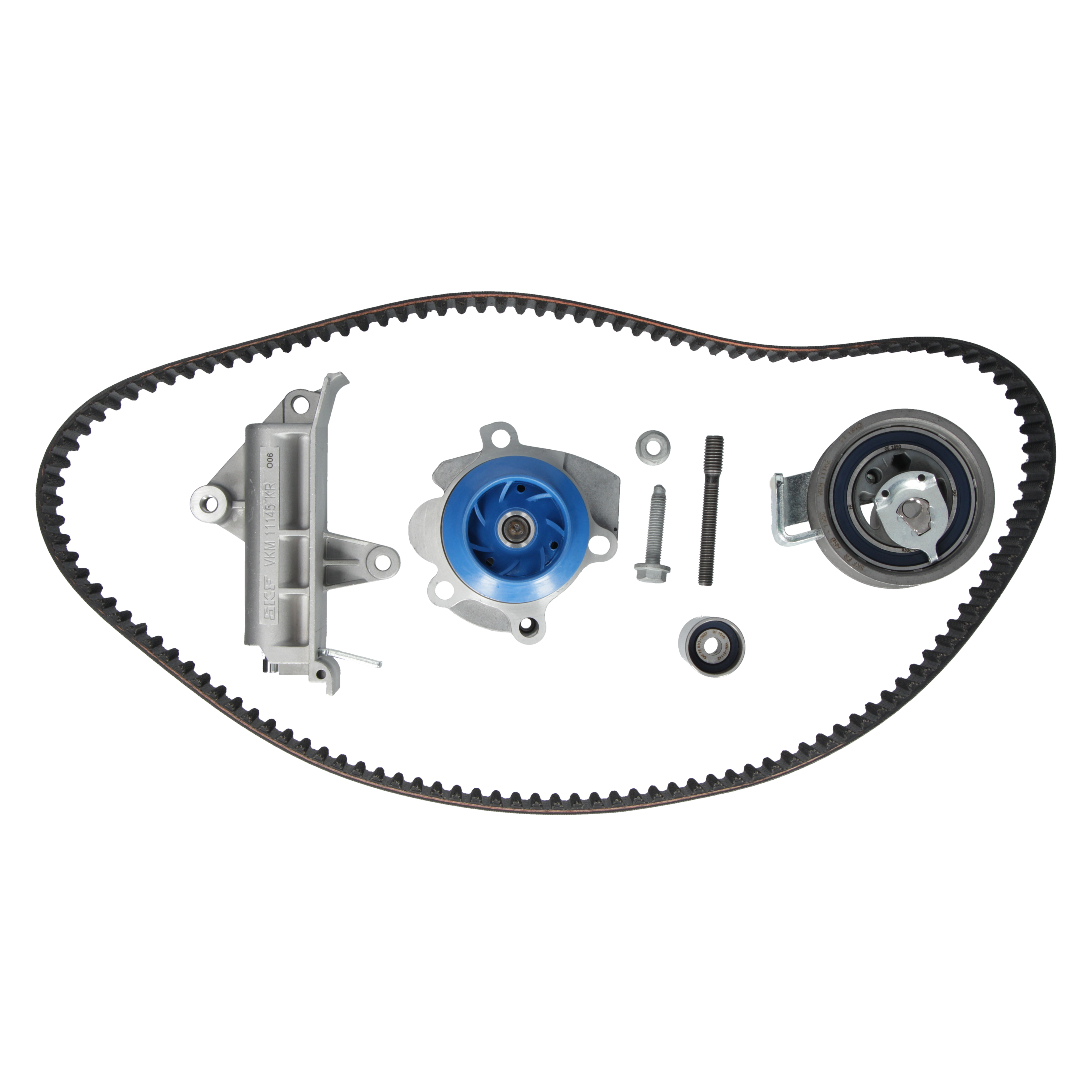 Pompe à eau FORD GALAXY WGR 1.9 TDI Original Kit courroie de distribution SKF