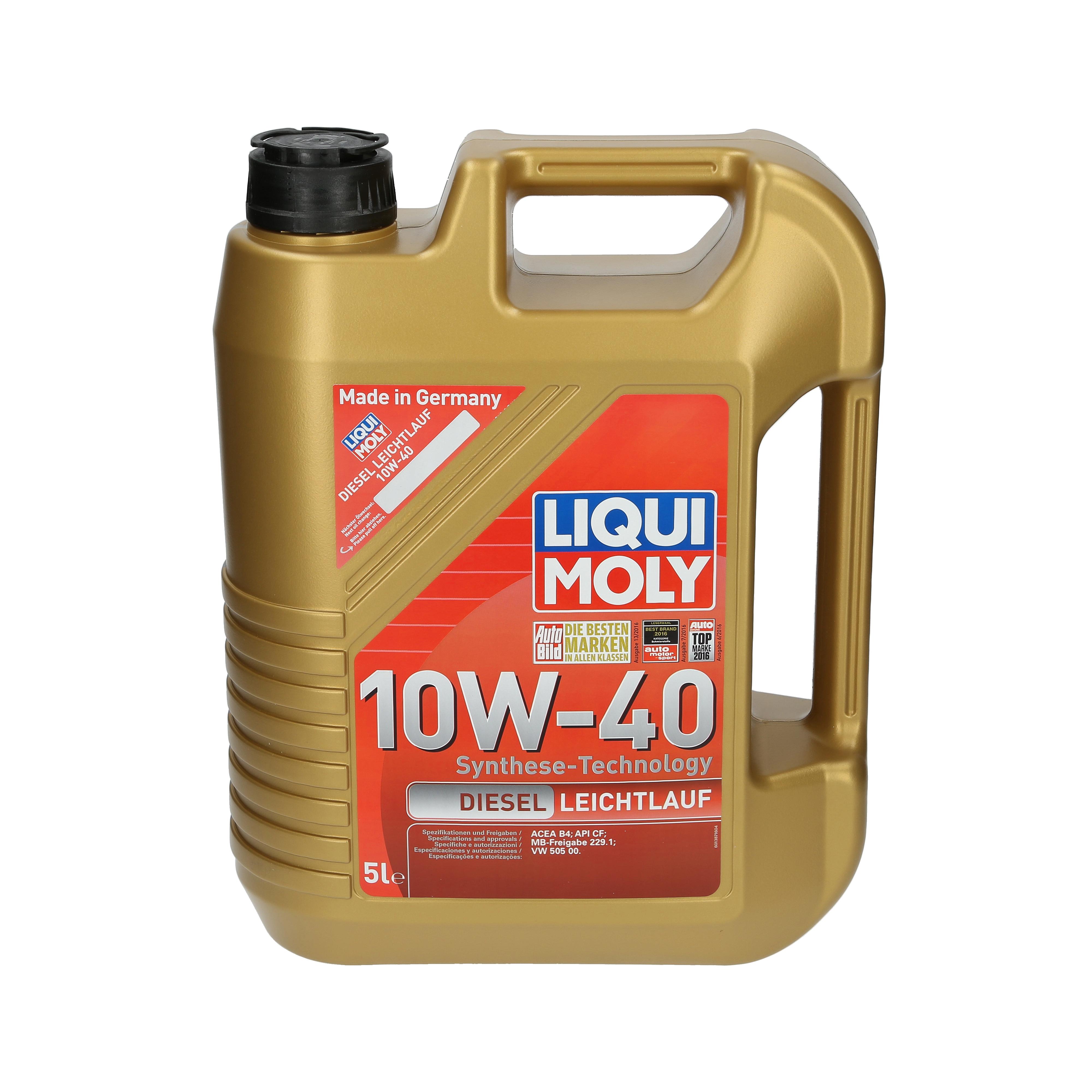 Motoröl ´Diesel Leichtlauf 10W-40 (5 L)´ | LIQUI MOLY (1387)