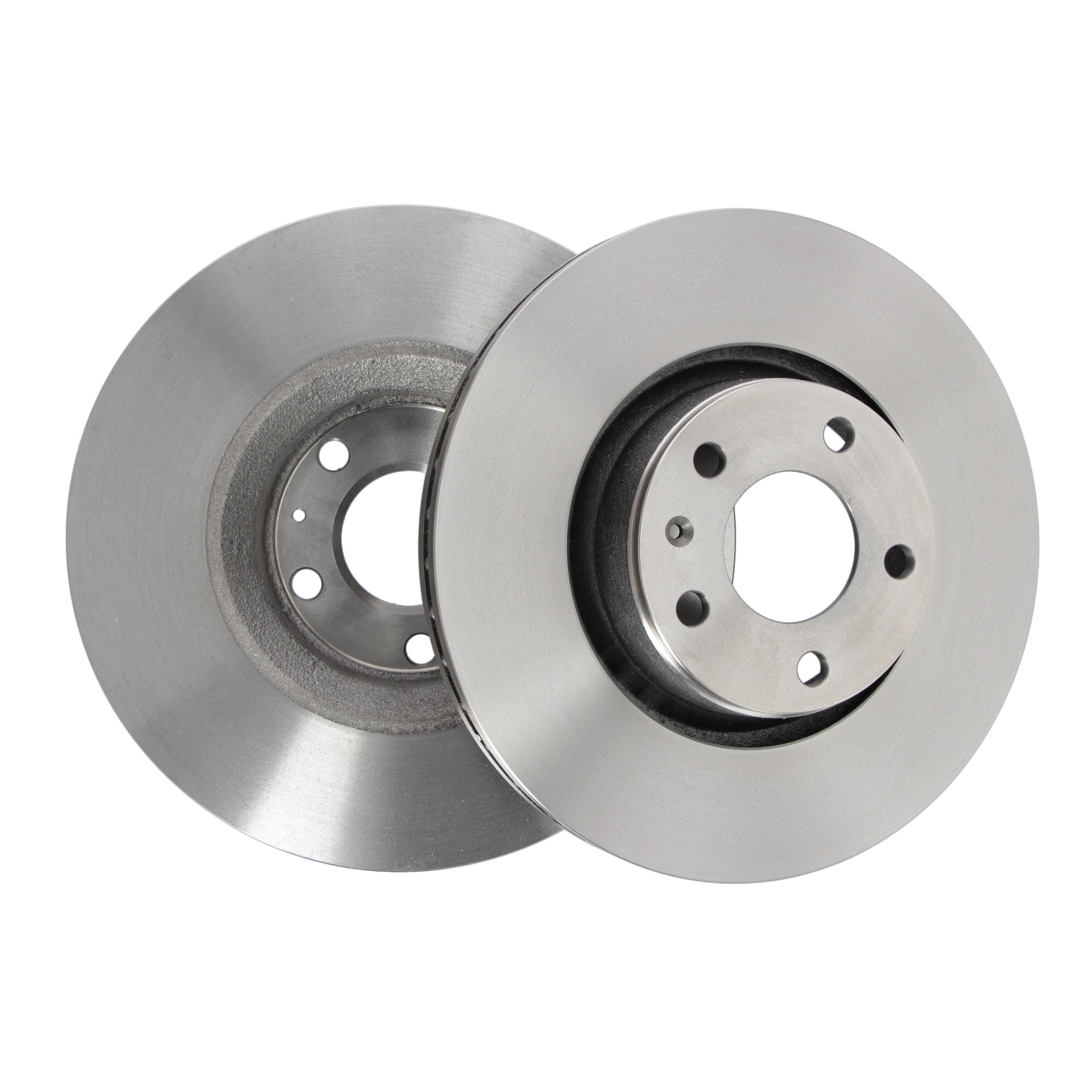 für Ford Brembo2 Bremsscheiben Belüftet 276 mm Bremsbeläge Vorne u.a